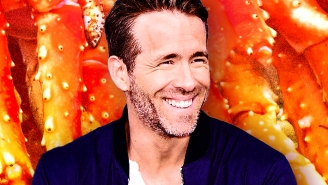 Ryan Reynolds Has A New Lifestyle Show Where He Gorges On Crab Legs, Throws Axes, And Sculpts Ice