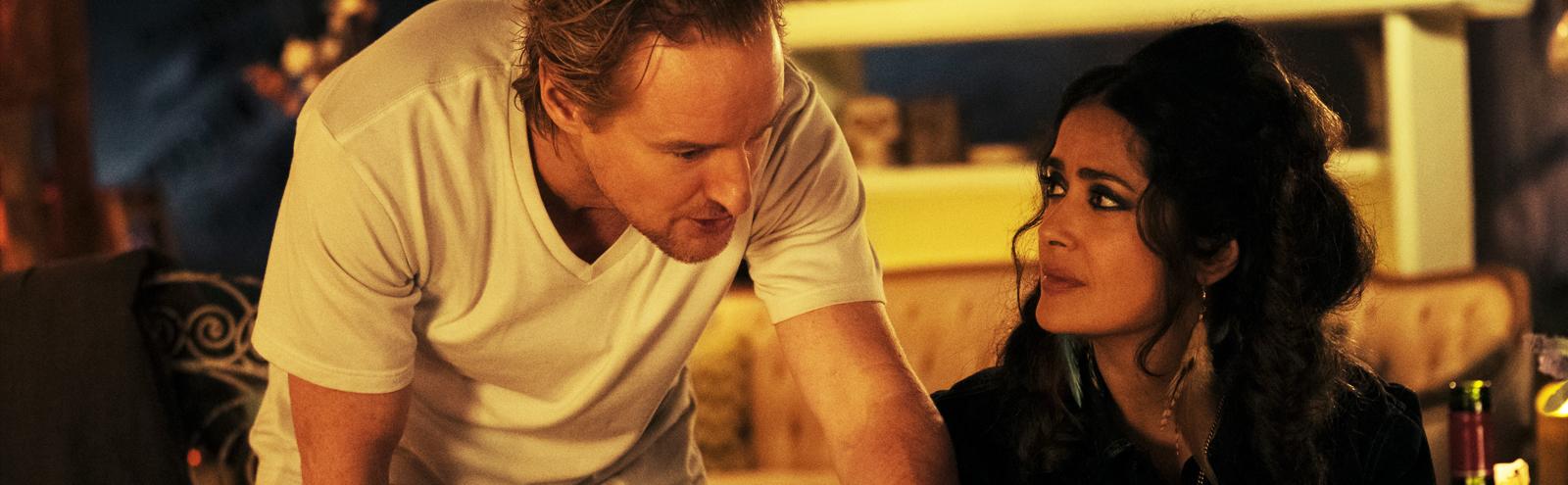 Salma Hayek and Owen Wilson in 'Bliss'