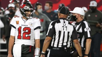 Tom Brady And The Bucs Got A Bunch Of Favorable Calls In The First Half Of The Super Bowl And Everyone Lost Their Minds