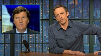 Seth Meyers Takes Aim At Tucker Carlson Over His 'Insanely Obvious' Lies About The Texas Blackout