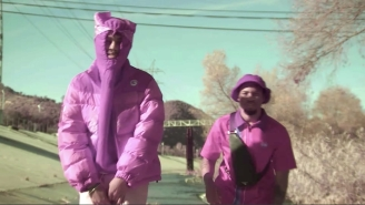Snot And Denzel Curry's Frantic 'Sangria' Video Runs With A Vibrant 'Pink Panther' Aesthetic