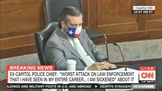 Ted Cruz Got Busted Playing On His Phone During Senate Testimony On The Jan. 6th Capitol Riot, And People Are Letting Him Have It