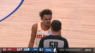 Trae Young Was Fined $20,000 For Going Off On A Ref At The End Of Hawks-Mavs