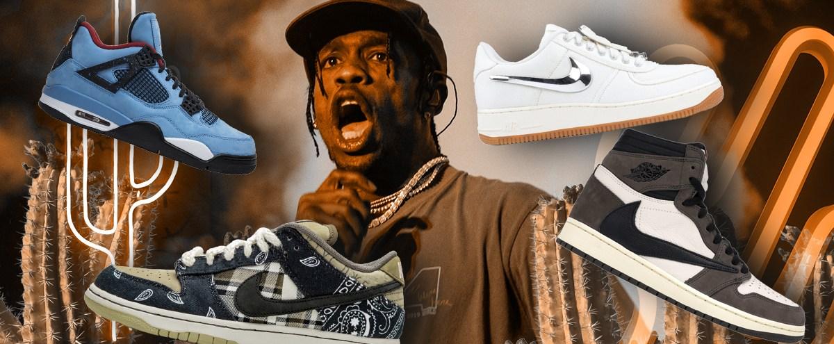 Every Single Travis Scott Sneaker Collaboration, Ranked