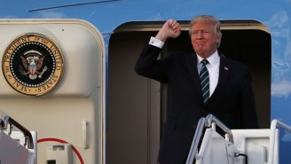 Donald Trump Apparently Once Offered Kim Jong-Un A Ride Home On Air Force One