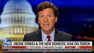 Tucker Carlson Took Mental Gymnastics To Another Level By Insinuating That An MSNBC Host Wants To Use Drone Strikes Against Trump Supporters