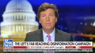 Tucker Carlson Is Now Trying To Gaslight Everyone By Floating A Conspiracy Theory That QAnon Is Actually A Diabolical Plot By Democrats And CNN