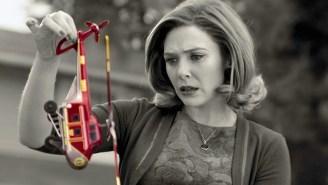 Elizabeth Olsen Is Teasing 'WandaVision's Own 'Luke Skywalker Moment' That's On The Way From Disney+
