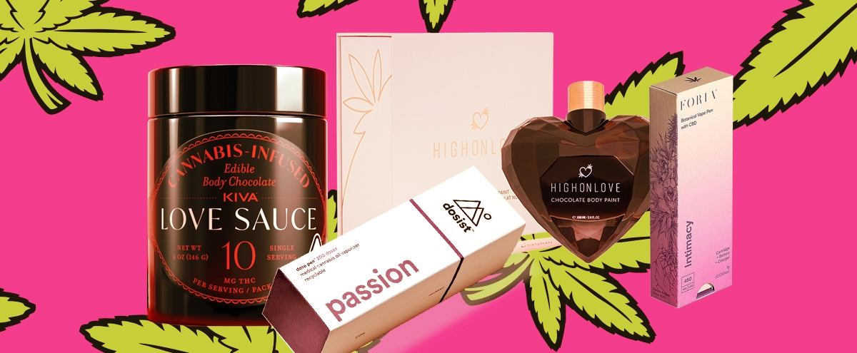 Our Favorite Sex-Enhancing CBD And THC Products For Valentine's Day
