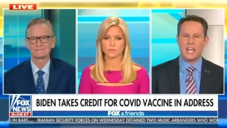 Brian Kilmeade Just Wants Joe Biden To Stop Talking About America's 500K COVID Deaths And Give Praise To Trump, Is That Too Much To Ask?