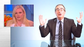 John Oliver Torches Meghan McCain Over Her 'Stop Asian Hate' Lip Service After The Atlanta Spa Shootings