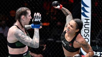 Amanda Nunes Submitted Megan Anderson Two Minutes Into The First Round At UFC 259