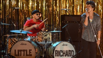 Bruno Mars And Anderson .Paak Gave A Lively Tribute To Little Richard At The 2021 Grammys