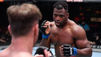 Francis Ngannou KO'd Stipe Miocic To Win The UFC Heavyweight Title