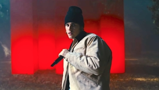 Justin Bieber Takes Over An Eerie Forest In A Reflective Live Performance Of 'Hold On'