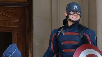 Yes, Wyatt Russell Saw Your Captain America Meme Comparing Him To The Guy In 'Up'