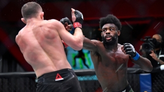 Aljamain Sterling Is The New UFC Bantamweight Champion After Petr Yan Was DQ'd For An Illegal Knee