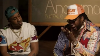 Benny The Butcher And 2 Chainz Attend Hustler's Anonymous In Their Honest 'Plug Talk' Video