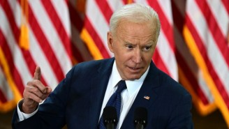 Joe Biden Called It 'A Mistake' For The Rangers To Have A Full Stadium Of Fans