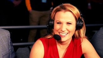 Lisa Byington Can't Wait For Her 'Super Bowl' Calling Play-By-Play For The Men's NCAA Tournament