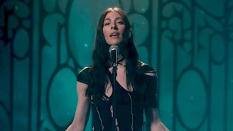 Caroline Polachek Brings Her Ethereal Cover Of 'Breathless' To 'The Late Late Show'