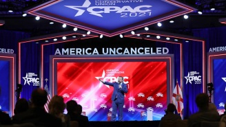 CPAC Is Firing Back At Hyatt Over Their 'Orchestrated Assault' On The Nazi Symbol-Resembling Stage Design