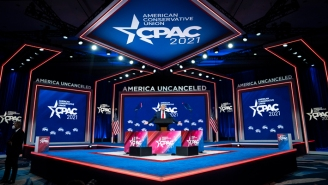 The Nazi-Looking Symbol In The CPAC Stage Was Reportedly An Honest Mistake By The Design Company