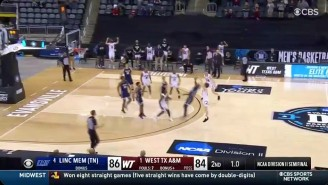 West Texas A+M Put The Madness In March With A Wild Buzzer-Beater To Make The D-II Title Game