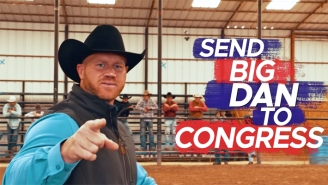 A GOP Candidate From New Jersey Is Being Ridiculed For Going Faux-Cowboy In Texas After Losing In Nevada