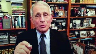 Dr. Fauci Talked Microchips And Vaccine Safety On 'The Late Show With Stephen Colbert'