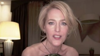 Gillian Anderson CheekilyResponds To Her 'Switching Accents' Causing Alec Baldwin So Much 'Distress'