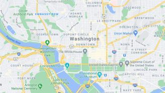 QAnon Cultists Now Seem To Believe That Washington, D.C. Has Vanished From Google Maps And Apple Maps