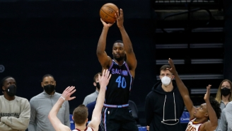 Harrison Barnes Went Full March Madness And Drilled A Game-Winning Buzzer-Beater Against The Cavs