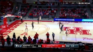 Houston Beat Memphis On A Banked In Heave To Possibly End The Tigers Tournament Dreams
