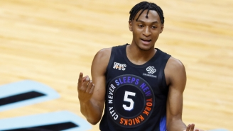 The Knicks Apparently Drafted Immanuel Quickley After Heavy Lobbying From World Wide Wes
