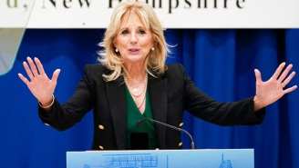 'Hugs Are Coming': Dr. Jill Biden Celebrates 100 Million Americans Getting Vaccinated And People Are Loving It