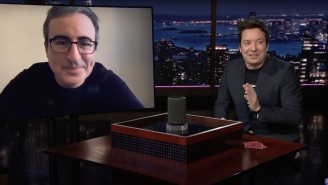 Jimmy Fallon Shut Down John Oliver's Attempt To Call Out Amazon's Treatment Of Unions And Workers