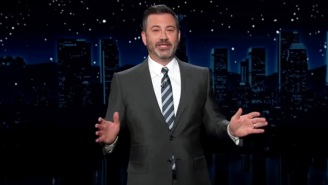 Jimmy Kimmel Is Flabbergasted That Harry And Meghan Fled To The U.S. (Of All Places) 'To Get Away From Racism'