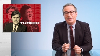 John Oliver Has A Field Day While Bashing Tucker Carlson For An Entire Deep-Dive Segment (And Gives Him New Nicknames, Too)