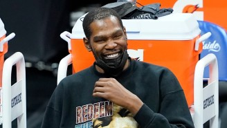 Kevin Durant Trolled Kendrick Perkins As He Drafted Nikola Vucevic