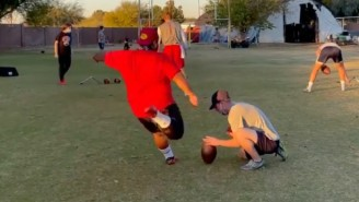 Arizona Christian's Beefy Kicker Nestor Higuera Is A Viral Sensation After His Conference Championship Winning Kick