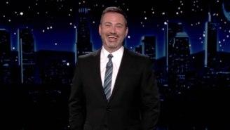 Jimmy Kimmel Found Himself In Disbelief Over Trump's Rambling Mar-A-Lago Wedding Speech