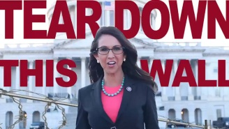 Rootin' Tootin' Lauren Boebert Made A Video Complete With Gun Blasts To Demand That Fencing Protecting The Capitol From MAGA Violence Be Torn Down
