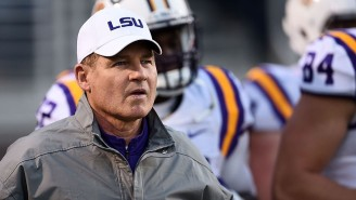 An LSU Investigation Alleges Les Miles Kissed A Female Student And Did Other Inappropriate Things