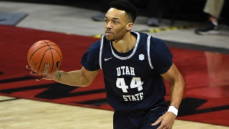 Utah State's Marco Anthony Wears The Number 44 As A Tribute To Wendy's