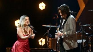 Maren Morris Gets An Assist From John Mayer For Her 2021 Grammys Performance Of 'The Bones'
