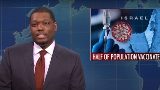 An 'SNL' Joke About Israel's Vaccine Rollout Is Still Stirring Up Controversy On Fox News Weeks Later