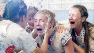 Florence Pugh Waited A 'Long Time' To Post A Behind-The-Scenes Photo She Took While Filming 'Midsommar'