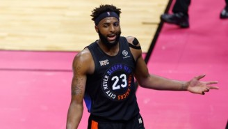 Mitchell Robinson Suffered A Fractured Foot During The Knicks Game Against The Bucks