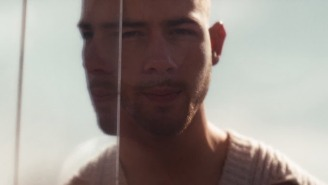 Nick Jonas Desperately Attempts To Return Home In His Unearthly 'Spaceman' Video